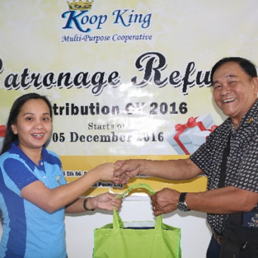 KOOP KING MPC Distributes Patronage Refund to Qualified Members