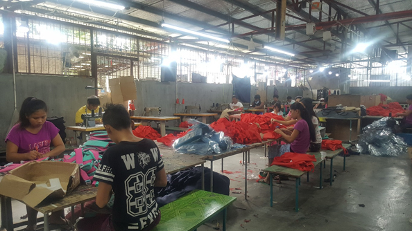 Koop King MPC visits Big Factory of Linen